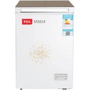 TCL BD/BC-100AEB 100升 电脑温控冷藏冷冻卧式冷柜 冰柜(绚丽金)