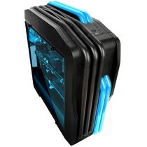 超频三 玛丽 黑色 中塔式机箱 (支持ATX大板/LED呼吸灯/电源独立仓/水冷/长显卡/USB3.0)产品图片主图
