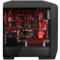 超频三 玛丽 黑色 中塔式机箱 (支持ATX大板/LED呼吸灯/电源独立仓/水冷/长显卡/USB3.0)产品图片3