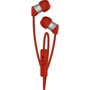 爱科技AKG Y23U 立体声音乐耳机 超轻超小设计 线控带麦 兼容苹果安卓 红色