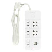 金玛尼 DS-Y161U 标准版智能2孔USB充电5位插座/排插/插排/插线板
