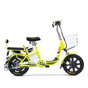 小刀 TDR-1602Z 新款成人助力电动车 电动自行车 36V人气脚踏代步车 心语靓亚黄