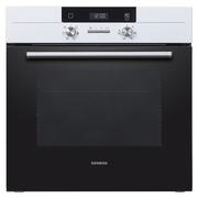 西门子 HB531W1W 全腔自清洁 3D热风 嵌入式烤箱 (白色)