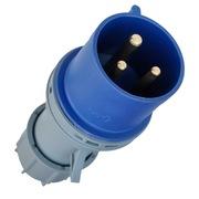 Towe IPS-P332 32A工业连接器 工业插头/机房PDU专用航空插头 3芯公头