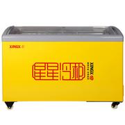 星星 SD/SC-325YE  325升 大冷柜冰柜卧式商用单温圆弧玻璃门展示柜
