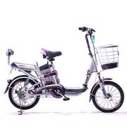 永久 朗动 16吋锂电车 48V10AH 锂电池电动自行车 紫色