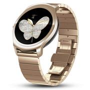 Ticwatch 2 智能手表精瓷版(金色钢表带)语音手势触摸ticwear系统 蓝牙3G通话手表 防水GPS记步测心率