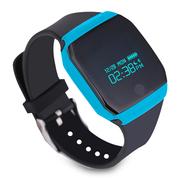 纽曼  S7 智能手环 来电信息提醒 记步游泳单车多运动模式 微信互联 蓝色