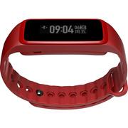 Weloop Now2智能手环 心率运动手环 来电提醒 短信显示 微信查看 日常记录 睡眠管理  炫彩版 红色