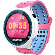 读书郎 W3T 智能手表 儿童电话手表 GPS定位防丢失手环 360智能防护安全电话手表手机 蔓越玫