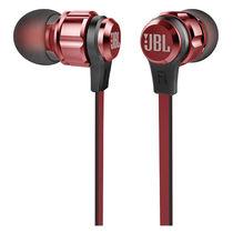 JBL T180A 立体声入耳式耳机 耳麦 一键式线控 麦克风 红色产品图片主图