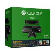 微软 Xbox One 体感游戏机 竞速同乐套装
