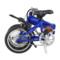台铃 TDR160Z 锂电池电动自行车 折叠电动车铝合金助力车 透明蓝产品图片3