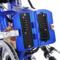台铃 TDR160Z 锂电池电动自行车 折叠电动车铝合金助力车 透明蓝产品图片4