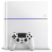 索尼 PlayStation 4 游戏主机双手柄套装 (白色)