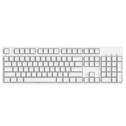 Ikbc c104 樱桃轴机械键盘 104键原厂Cherry轴 白色 茶轴