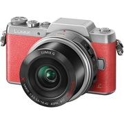 松下 Lumix DMC-GF8 微型单电单镜套机 粉红色 电动变焦版 美颜自拍利器(14-42mm DMC-GF8XGK-P)