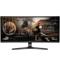 LG 34UC79G 34英寸 1ms响应 144Hz刷新 21:9曲面电竞显示器产品图片1