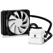 九州风神 船长120(白)水冷CPU散热器 (多平台/发光呼吸灯/12CM风扇/智能温控/预涂硅脂/水冷)