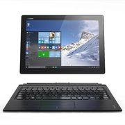 联想 Miix4 尊享版 二合一平板电脑 12英寸(Intel CoreM5 8G内存/256G/Win10 内含键盘/触控笔/Office)黑色