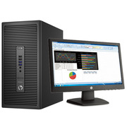 惠普  ProDesk 600G2 TWR 台式电脑(i5-6500 4G R5 320 1G显卡 500G DVDRW Win7 21.5英寸显示器)