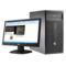 惠普  280G2 MT 台式电脑(i5-6500 4G 500G DVDRW Win7 21.5英寸显示器)产品图片2