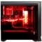 长城 魔镜M-12H电竞游戏机箱加强版黑色(水冷/全侧透/独立电源仓/磁吸防尘)产品图片2