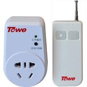 Towe AP-WS101 无线遥控插座 220V单路/10A可穿墙家用智能遥控开关控制器
