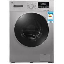 TCL XQGM85-F12102THB 8.5公斤 免污变频滚筒洗衣机(皓月银)产品图片主图