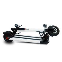 启步 电动滑板车 行天下成人便携折叠锂电池代驾电瓶车防水踏板迷你自行车代步电动车 8寸魔幻白标准款10.4AH续航30km产品图片主图
