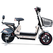 小刀 电动车 TDT-1532Z 新款48V20AH电动自行车 时尚踏板代步车小叮当A卡其色