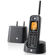 摩托罗拉 O201C 电话机 远距离数字无绳单机 橙色背光电话簿中英文显示菜单可扩展 固定无线座机