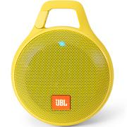 JBL Clip+ 音乐盒升级版 蓝牙便携音箱 音响 户外迷你小音响 音箱 防水设计 高保真无噪声通话 柠檬黄
