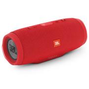 JBL Charge3 音乐冲击波3 蓝牙小音箱 音响 低音炮 移动充电 防水设计 支持多台串联 便携迷你音响 魂动红