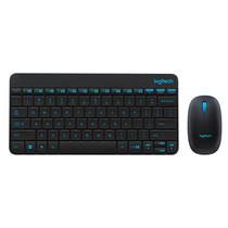罗技 无线键鼠套装 MK245 Nano(黑色)产品图片主图