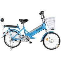 台铃  电动自行车 48V锂电20寸助力车 TDN189Z小弘铃蓝色产品图片主图