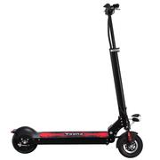 PUKKA 锂电池轻便代步代驾成人电动滑板车迷你型可折叠电瓶自行车 50公里-送座椅-深邃黑
