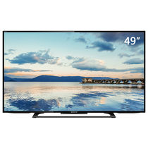 索尼 KD-49X6000D 49英寸 4K LED液晶电视(黑色)产品图片主图