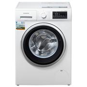 西门子  WM12P2R08W 8公斤 变频 滚筒洗衣机 静音 除菌 LED触摸键 加速洗 节能洗(白色)