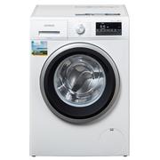 西门子  WM12P2R09W 9公斤 变频 滚筒洗衣机 静音 除菌 LED触摸键 加速洗 节能洗(白色)