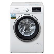 西门子  WM12P2R09W 9公斤 变频 滚筒洗衣机 静音 除菌 LED触摸键 加速洗 节能洗(白色)产品图片主图