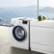 西门子  WM12P2R09W 9公斤 变频 滚筒洗衣机 静音 除菌 LED触摸键 加速洗 节能洗(白色)产品图片2