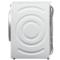 西门子  WM12P2R09W 9公斤 变频 滚筒洗衣机 静音 除菌 LED触摸键 加速洗 节能洗(白色)产品图片3