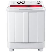 统帅 @PB85187W 8.5公斤双缸半自动洗衣机 溢水漂洗 1300转高速脱水 海尔荣誉出品