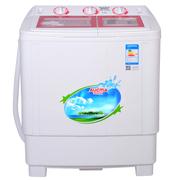 澳柯玛 XPB82-1718STD 8.2公斤 半自动双缸洗衣机 (红)