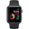 苹果 Watch Sport Series 1智能手表(42毫米深空灰色铝金属表壳搭配黑色运动型表带)产品图片2