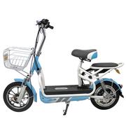 新日 电动车 自行车 时尚电动自行车48V电瓶车新款滑板车电单车 灵诺plus系列 马卡龙蓝