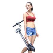 极科 JEEK碳纤维电动滑板车 电动自行车 成人折叠滑板车 男女代步车 代驾锂电瓶车C1 白色35KM续航