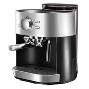 北美电器 意式咖啡机家用 压力蒸汽可打奶泡AC-EC15D