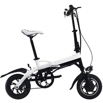 缦翎 电动折叠自行车铝合金迷你便携电瓶车代驾代步锂电池电动车 标准款产品图片主图